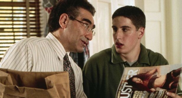 «AMERICAN PIE»: Jason Biggs hadde rollen som den sex-frustrerte unggutten Jim Levenstein i «American Pie»-filmene. Foto: NTB Scanpix