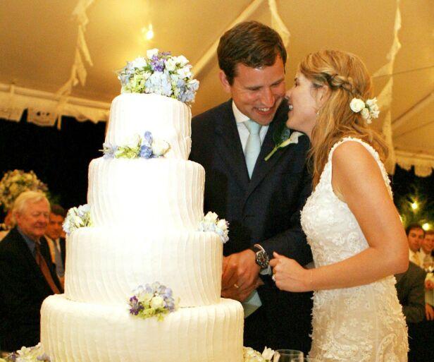 TREBARNSFORELDRE: Jenna og Henry giftet seg i 2008. Nå venter de sitt tredje barn sammen. Foto: NTB Scanpix