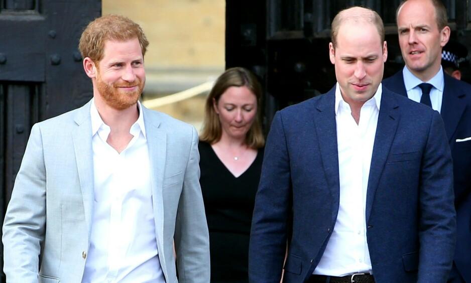 VENNER ELLER FIENDER?: I en god stund har det gått rykter om at prins Harry og prins William er uvenner. Det er det flere grunner til. Foto: NTB scanpix
