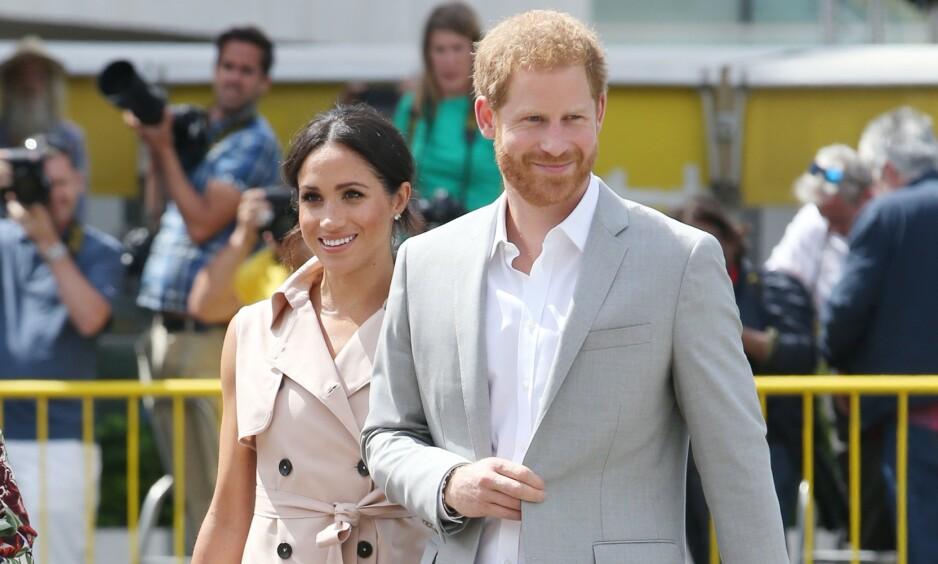 BILDE FRA NORGE: For to år siden ble det spekulert heftig på om prins Harry og hertuginne Meghan hadde vært på ferie i Norge. Nå har hertugparet tilsynelatende delt et privat bilde fra turen. Foto: NTB Scanpix