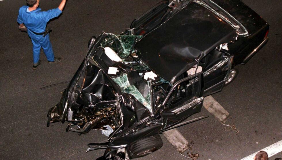 PÅMINNELSE: Ulykken som krevde prinsesse Dianas liv i 1997 huskes fortsatt verden over. Foto: NTB scanpix