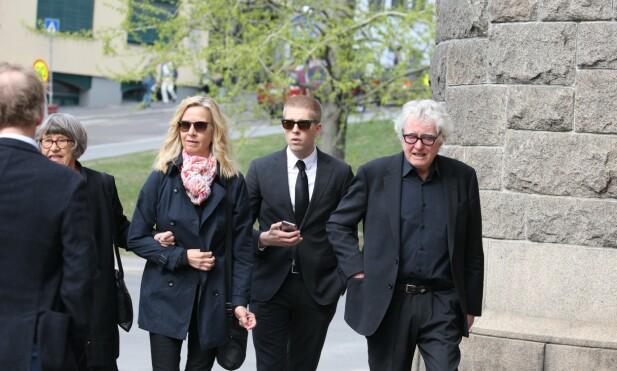 <strong>TIL STEDE:</strong> Hege Schøyen, Jakob Schøyen Andersen og Arild Andersen kom sammen. Foto: Andreas Fadum