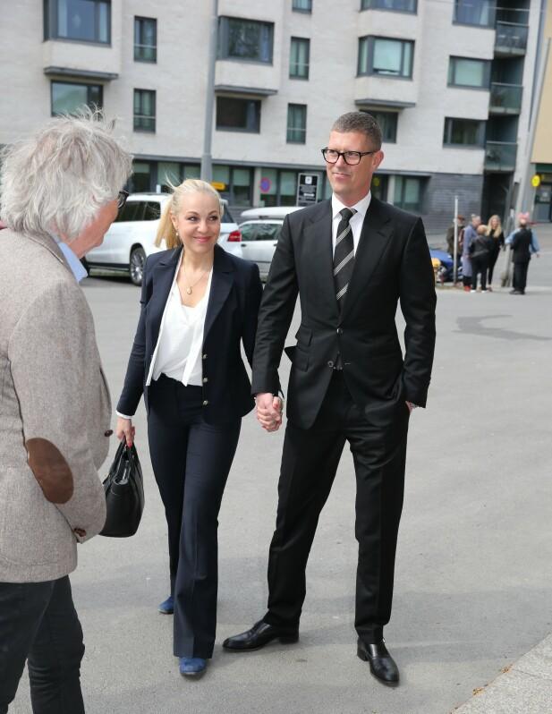 <strong>TIL STEDE:</strong> Janne Formoe og Jan Fredrik Karlsen kom sammen. Foto: Andreas Fadum