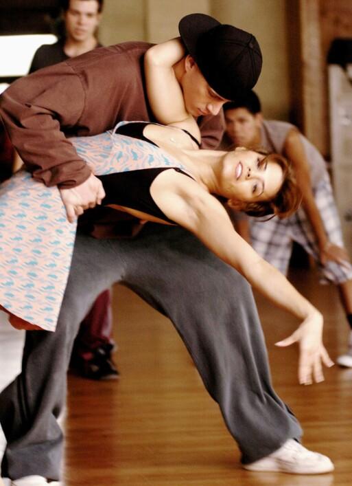 <strong>MØTTES PÅ JOBB:</strong> Channing og Jenna i en scene fra «Step Up». Foto: Moviestore/REX/ NTB scanpix
