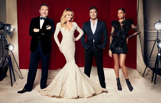 DOMMER: Alesha Dixon er en del av dommerpanelet i «Britain's Got Talent», sammen med David Williams, Amanda Holden og Simon Cowell. Foto: NTB Scanpix