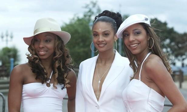 SUKSESS: Alesha slo gjennom som artist i jentegruppen Mis-Teeq. Her i 2001. Foto: NTB Scanpix