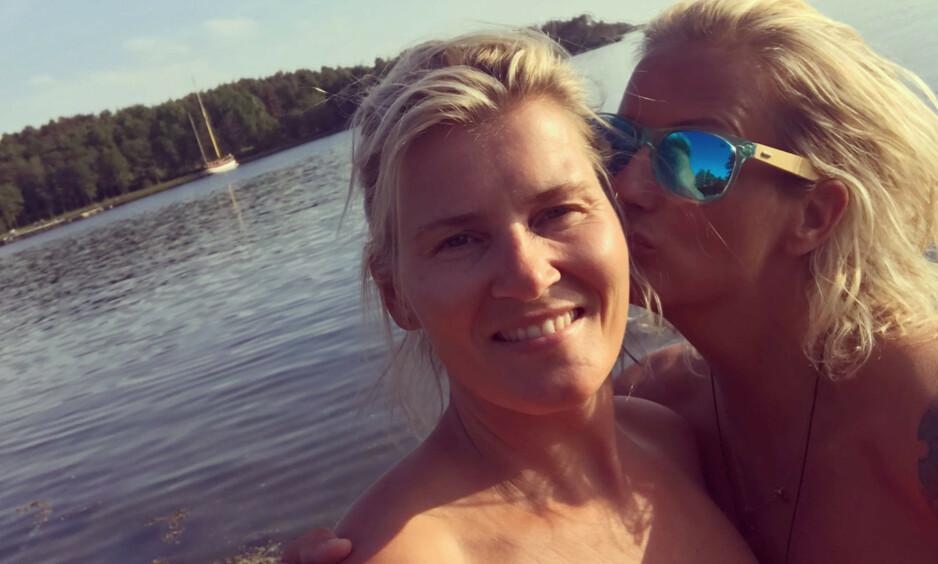 HEDRER SKOFTERUD: Marit Stenshorne forteller om tiden etter Vibeke Skofteruds bortgang. Foto: Privat / Marit Stenshorne
