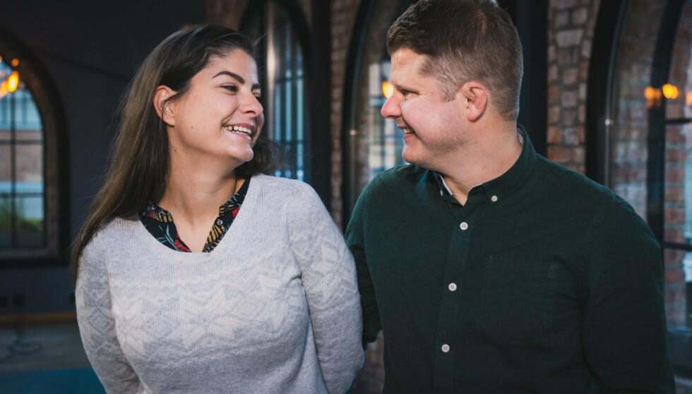 - PERFEKT MATCH: At både Sara Jansson Ishqair og Joakim Aleksander Mäkiperä meldte seg på «Gift ved første blikk» viste seg å være et lykketreff. Et drøyt halvt år etter bryllypet har de kjøpt leilighet, og til vinteren blir de foreldre. Foto: TVNorge