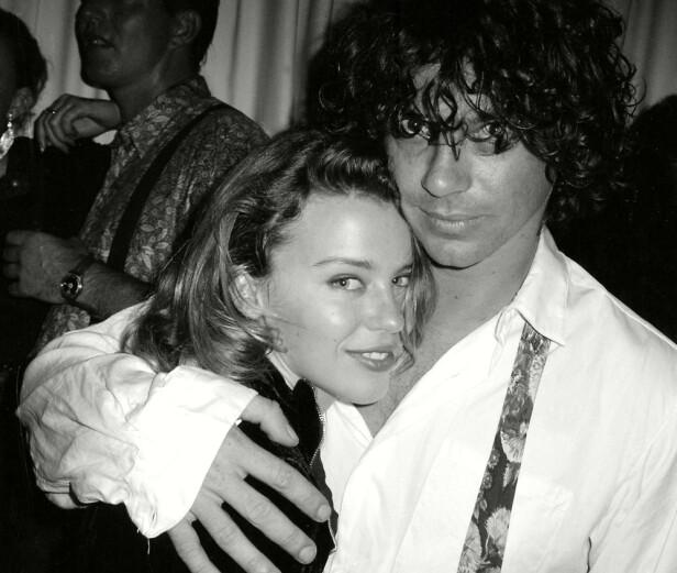 <strong>LIDENSKAP:</strong> Kylie Minogue tegner et bilde av et svært lidenskapelig forhold med Michael Hutchence. Foto: NTB Scanpix