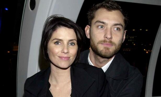 <strong>SKILTE SEG:</strong> Sadie Frost og Jude Law var gift fra 1997 til 2003. Sammen har de tre barn. Foto: NTB Scanpix