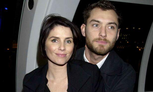 SKILTE SEG: Sadie Frost og Jude Law var gift fra 1997 til 2003. Sammen har de tre barn. Foto: NTB Scanpix