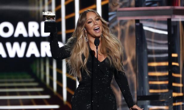 IKON: Mariah Carey stakk av med en av de gjeveste prisene. Foto: NTB Scanpix