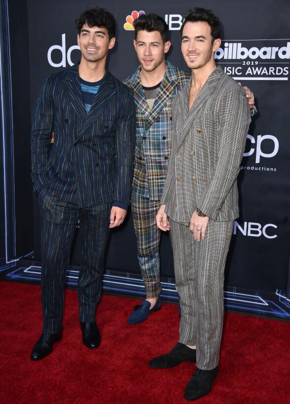 BILLBOARD MUSIC AWARDS: The Jonas Brothers. Foto: NTB Scanpix