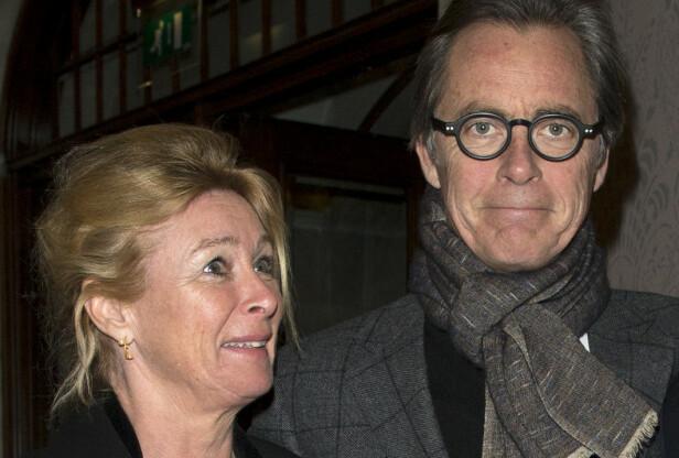 POPULÆR: Doktor Jørgen Skavlan, her med Jenny Skavlans mor, kostymedesigner Janicke Ebbing. Foto: Se og Hør