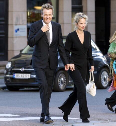 PENT PAR: Fredrik Skavlan og Marie Bonnevie er at Skandinavias mest profilerte par. Foto: Andreas Fadum