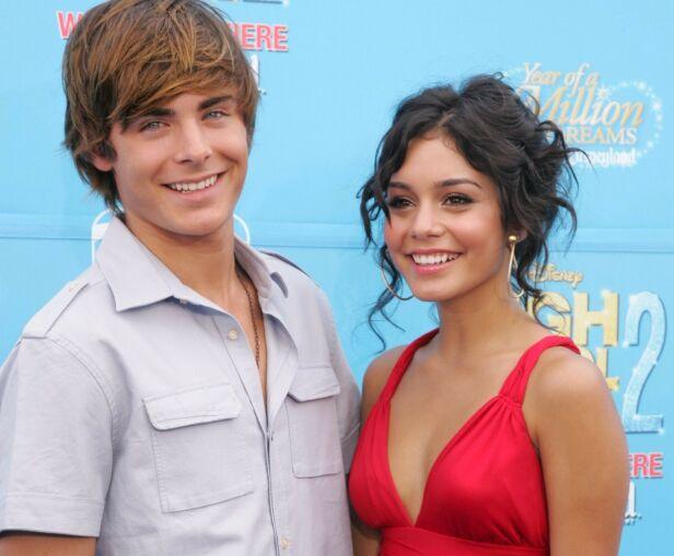 BRUDD: Zac og Vanessa var et av Hollywoods hotteste par fra 2006 til 2010. Her sammen i 2007. Foto: NTB Scanpix