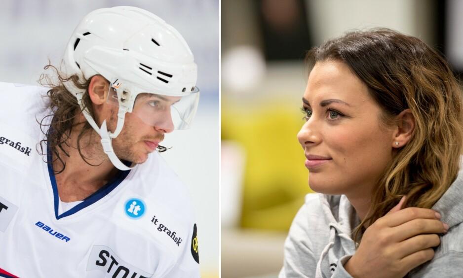 ROMANSERYKTER: Det har i flere uker versert rykter om at håndballstjernen Nora Mørk har funnet tonen med ishockeyspilleren Martin Laumann Ylven. Foto: NTB Scanpix