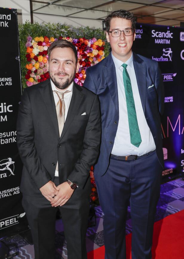 STJERNEDUO: Dennis Vareide og Preben Fjell oppnådde enorm suksess med Youtube-kanalen «Prebz og Dennis». Foto: NTB scanpix