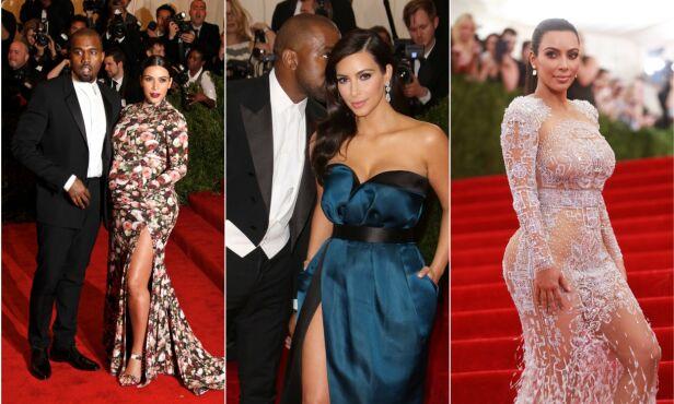 DELTATT I SEKS ÅR: Realitydronningen Kim Kardashian West har vært gjest under Met-gallaen seks ganger. Foto: NTB Scanpix