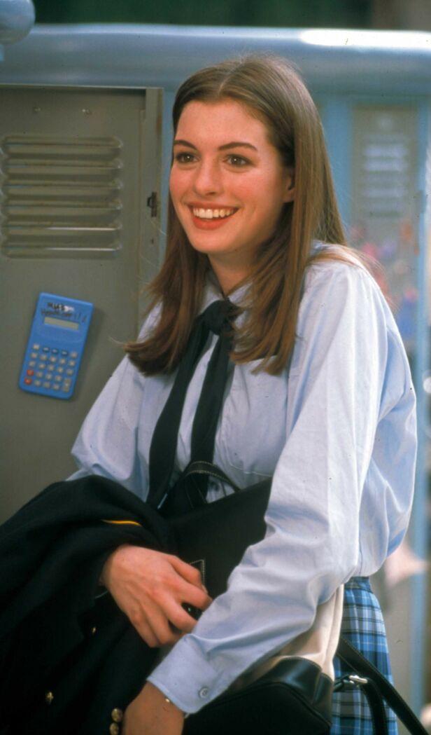 GJENNOMBRUDD: Anne Hathaway fikk sitt store gjennombrudd med filmen «Prinsesse på prøve» i 2001. Foto: NTB scanpix