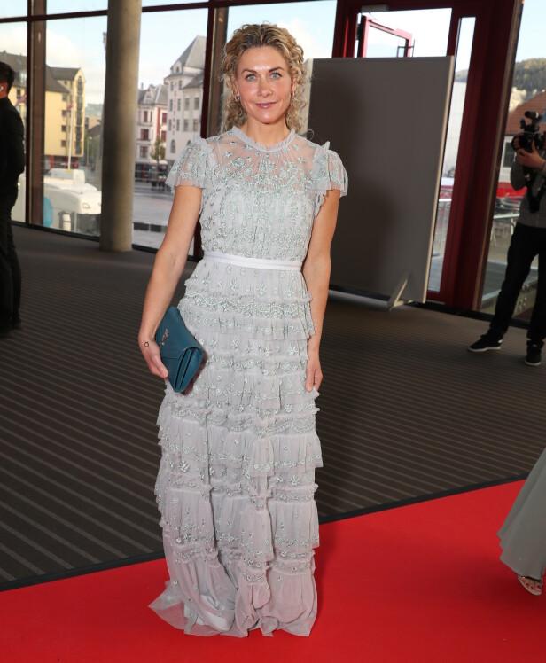 FLOTT: Cecilie Skog hadde valgt å låne fremfor å kjøpe årets Gullruten-kjole. Foto: Andreas Fadum