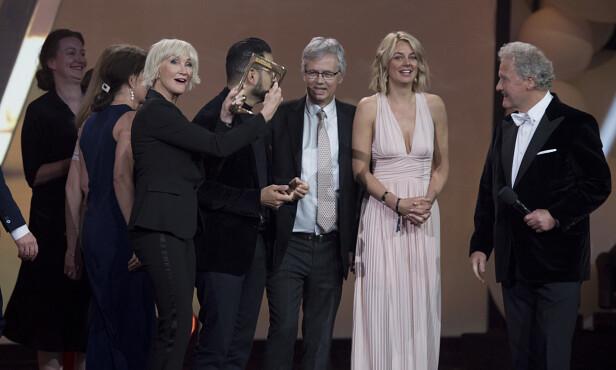 HEDERSPRISEN: I år gikk hedersprisen til «Dagsrevyen». Foto: NTB scanpix