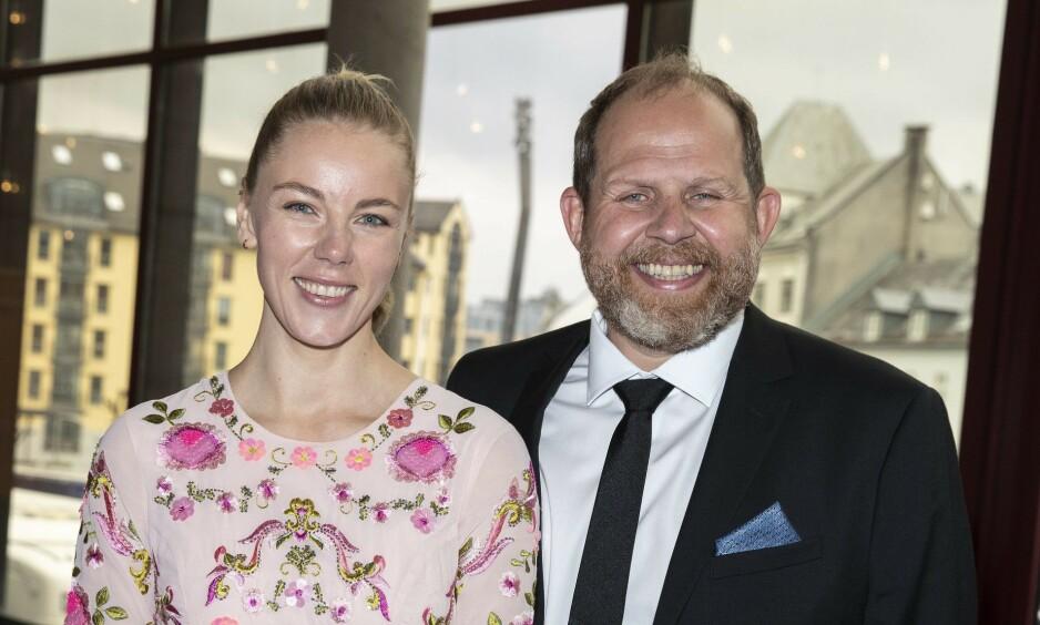 <strong>BLE HJEMME:</strong> I fjor tok Truls Svendsen med seg kjæresten Charlotte Smith på Gullruten for første gang. I år ble de derimot hjemme. Foto: Andreas Fadum