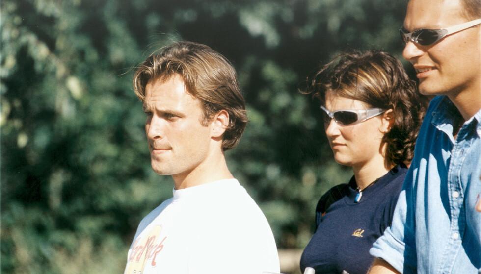 <strong>SOM ERTERIS:</strong> Thomas Ødegaard ble kjent med prinsesse Märtha Louise da han var fadderen hennes. De to var sammen i et års tid, fra 1997 til 1998. Foto: Aller Medias bildearkiv