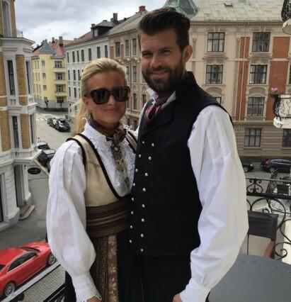 <strong>LYKKEN TOK SLUTT:</strong> Hedda Skoug og Kenneth Halbjørhus har vært et par i nesten seks år. Foto: Privat