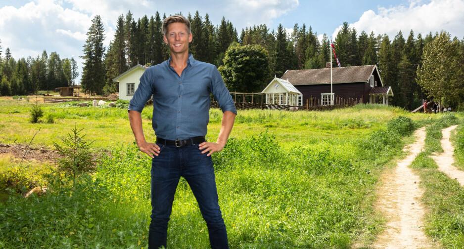 FANT LYKKEN PÅ NY: «Farmen»-programleder Gaute Grøtta Grav bekrefter at han er blitt kjæreste med Cathrine Montero Moen. Foto: Alex Iversen/ TV 2