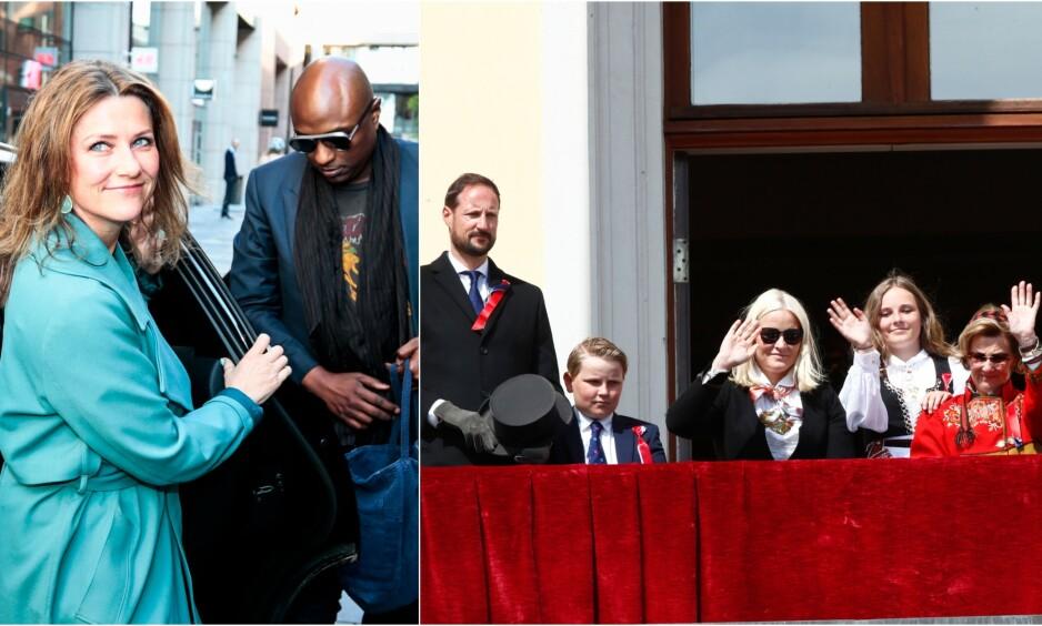 <strong>KLAR FOR NASJONALDAGEN:</strong> Allerede tirsdag kunne prinsesse Märtha Louises kjæreste Durek Verrett avsløre at han gleder seg til å feire 17. mai i Norge. Foto: NTB Scanpix