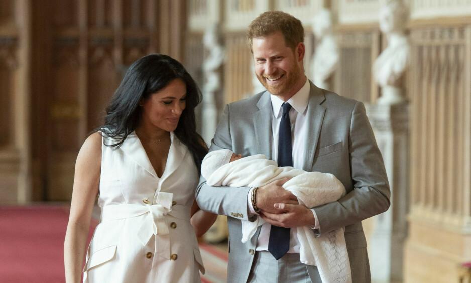 FORVIRRING: Det var lenge usikkert hvor hertuginne Meghan faktisk hadde planer om å føde. Ryktene skulle ha det til at hun ville føde hjemme, men om det var tilfellet, fikk hun ikke viljen sin. Foto: NTB scanpix