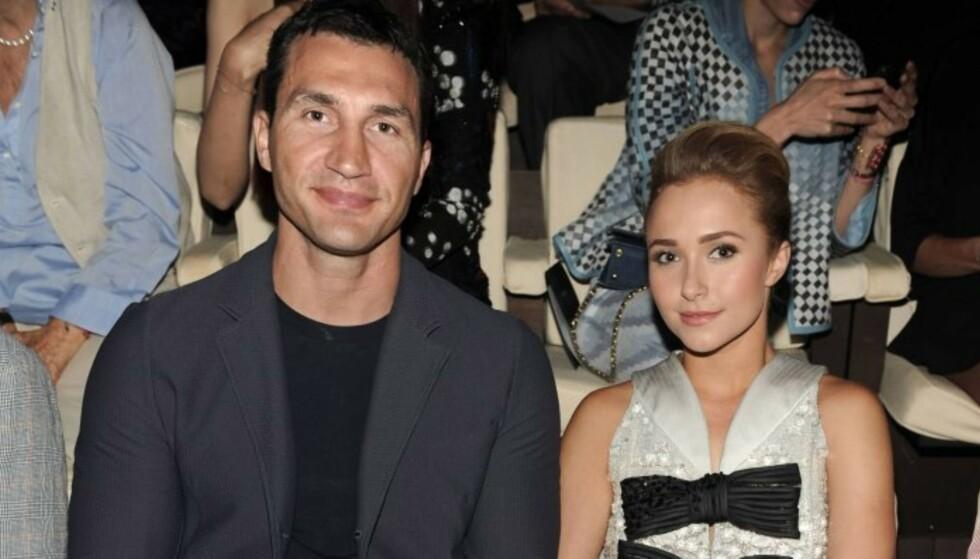 <strong>FLYTTET HJEM TIL UKRAINA:</strong> Haydens eks, Wladimir Klitschko, har tatt med seg deres fire år gamle datter hjem til Ukraina etter bruddet. Foto: NTB Scanpix