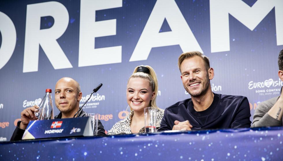 FINALEKLARE: Lørdag kveld står KEiiNO på scenen og vil gi alt for å hente hjem Eurovision-seierenFoto: Christian Roth Christensen / Dagbladet