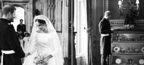 Deler «hemmelige» bilder på sin første bryllupsdag