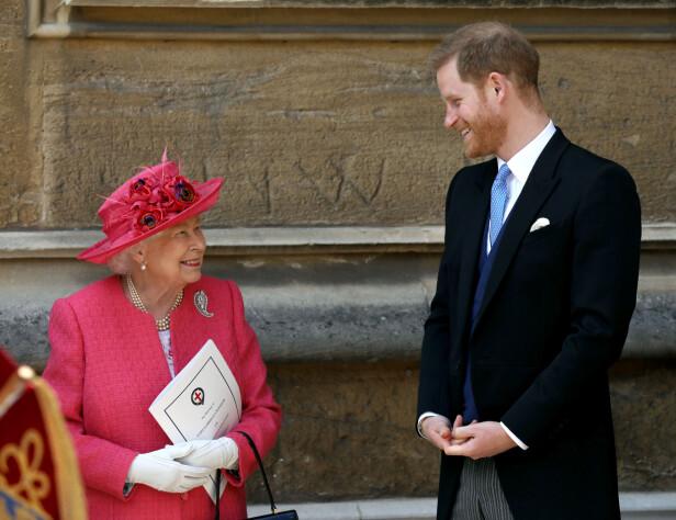 <strong>SOSIALE MEDIER:</strong> Prins Harry fikk nylig egen Instagram-konto sammen med hertuginne Meghan. Nå skal også dronningen fokusere på sosiale medier. Foto: NTB Scanpix