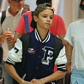 NY KJÆRESTE: Også Romeo Beckham skal ha fått seg kjæreste. Foto: NTB Scanpix