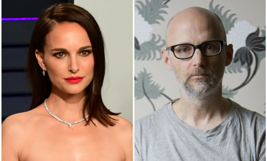 PÅSTAND MOT PÅSTAND: Natalie Portman og Moby, hvis egentlige navn er Richard Melville Hall, har ikke samme oppfatning av forholdet til hverandre. Foto: NTB Scanpix