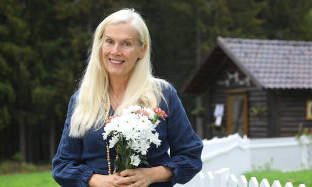 SMINKEFRI: Gunilla forteller at hun trives uten sminke, også på TV. Foto: Morten Eik