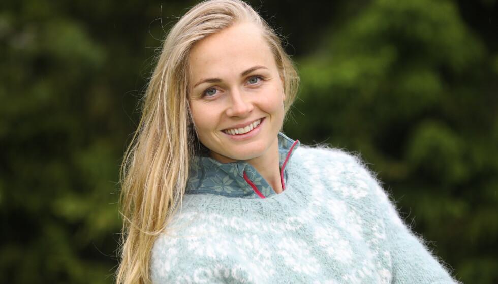 NY MOTIVASJON: Hege Bøkko forteller at hun trengte å gjøre noe annet nå, etter 12 år på skøyter. Foto: Morten Eik
