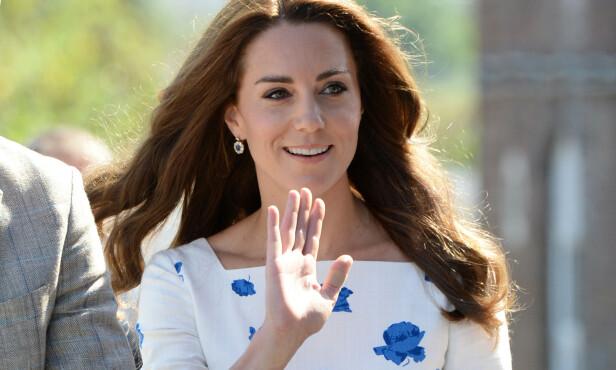 I 2016: Kate med plaster i august 2016. Foto: NTB Scanpix