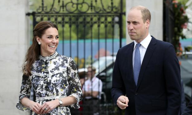 SKAL MØTE PRESIDENTEN: Ifølge flere britiske medier skal hertuginne Kate etter planen møte Trump sammen med prins William. Om hun har fått med seg hans tidligere uttalelser er ikke kjent. Foto: NTB Scanpix