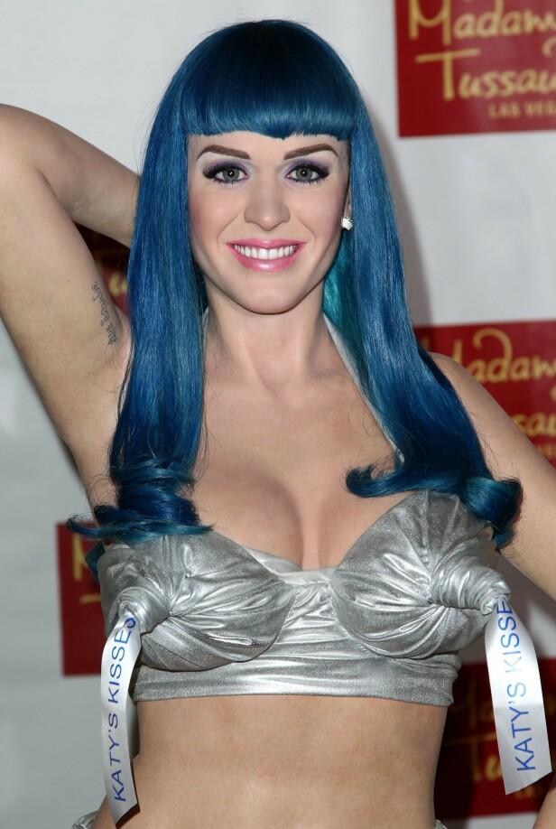 FALSK PERRY: Voksutgaven av Katy Perry som ble avduket i Los Angeles i januar 2013. Foto: NTB Scanpix