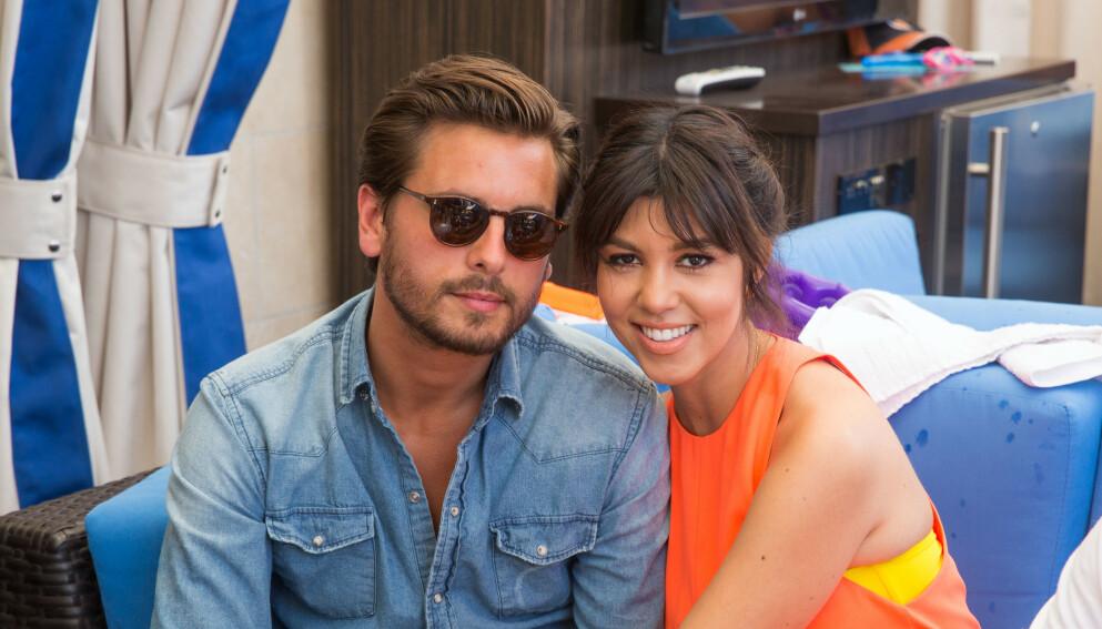 AVKREFTER: Scott Disick og Kourtney Kardashian svarer ærlig på ryktene om at de har hatt en gjenforening. Foto: Mediapunch / REX / NTB