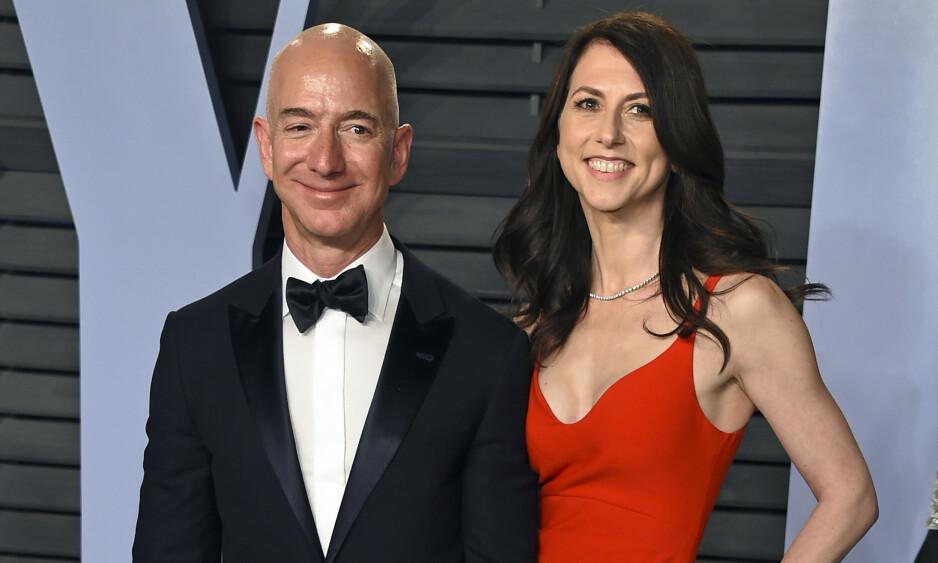 <strong>GAVMILD:</strong> MacKenzie Bezos ble sittende igjen med en svær formue da hun og Amazon-gründer Jeff Bezos skilte seg tidligere i år. Nå har hun lovet å gi bort minst halve formuen. Foto: Evan Agostini / Invision / AP / NTB scanpix