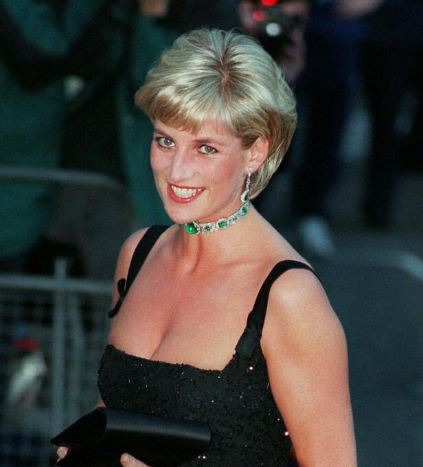 UBEKVEM: Trumps oppførsel skal ha gjort prinsesse Diana ubekvem. Foto: NTB scanpix