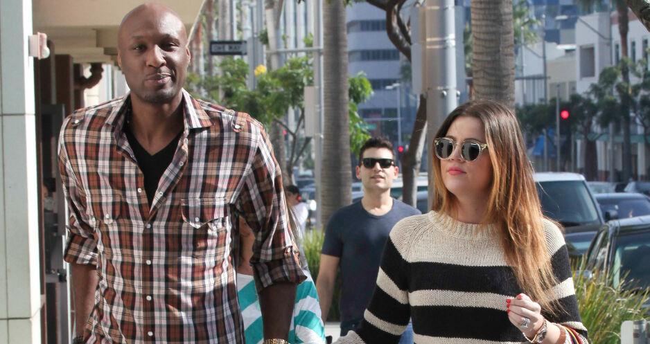 VIL BLI SAMMEN IGJEN: Khloé Kardashian og Lamar Odom var ett av Hollywoods heteste par i mange år. Her sammen i 2011, to år etter at de giftet seg. Nå avslører Lamar at han alltid vil elske eksen. Foto: NTB Scanpix