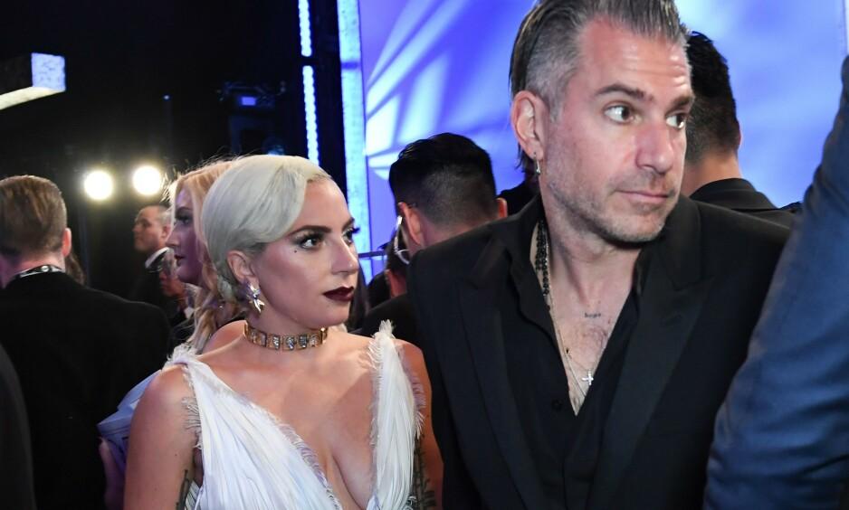 <strong>BRUDD:</strong> I februar kunne Lady Gagas representanter bekrefte at forlovelsen mellom henne og Christian Carino var brutt. Nå kommenterer artisten selv bruddet for aller første gang. Foto: NTB Scanpix