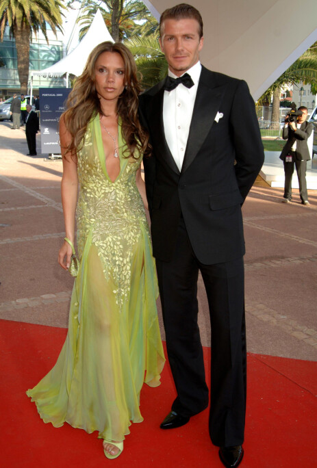 <strong>STJERNEPAR:</strong> David og Victoria Beckham har vært gift siden 1999, og har fire barn sammen. Her i 2005. Foto: NTB Scanpix