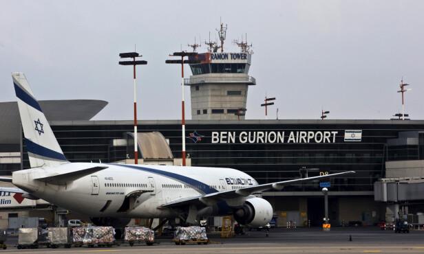 AVHØRT: Mona Berntsen hevder hun ble avhørt på flyplassen i Tel Aviv i halvannen time. Foto: NTB scanpix